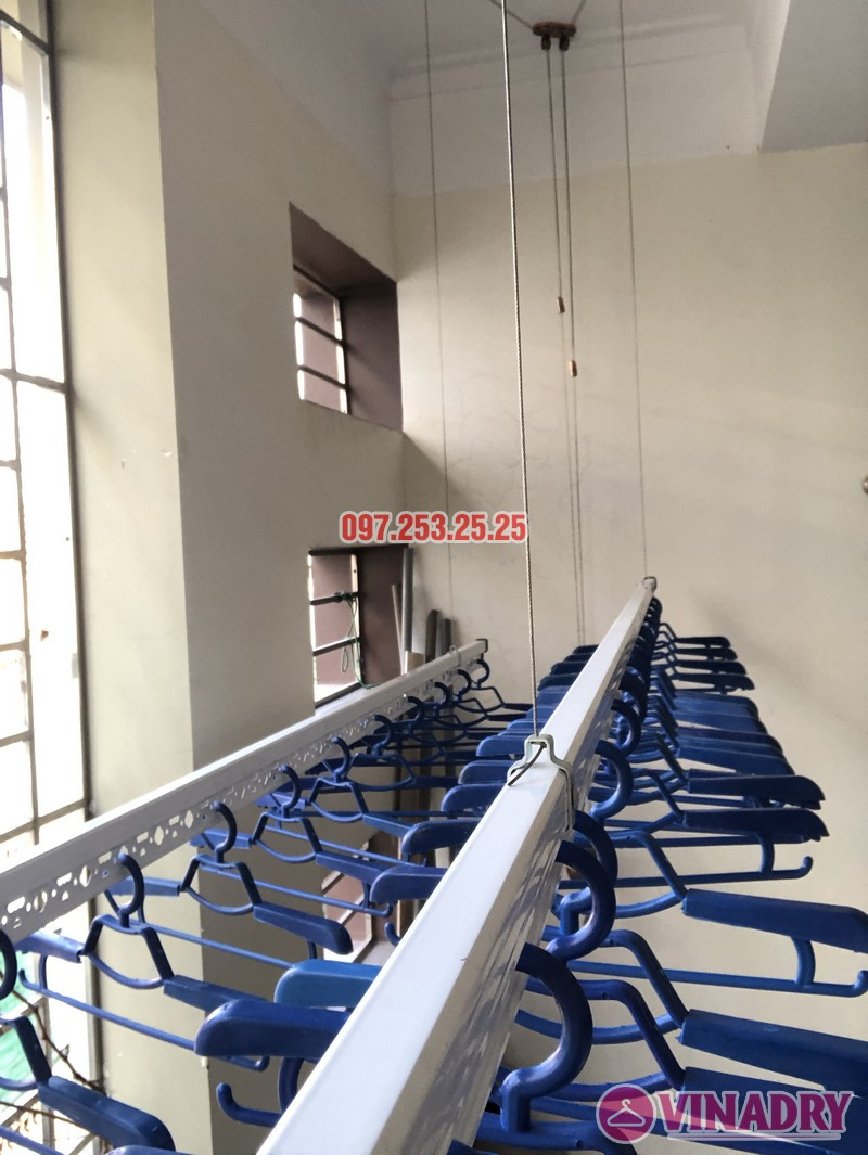 Bộ giàn phơi Vinadry GP902 lắp tại nhà chị Linh, ngõ 40 Ngụy Như Kon Tum, Thanh Xuân- 01