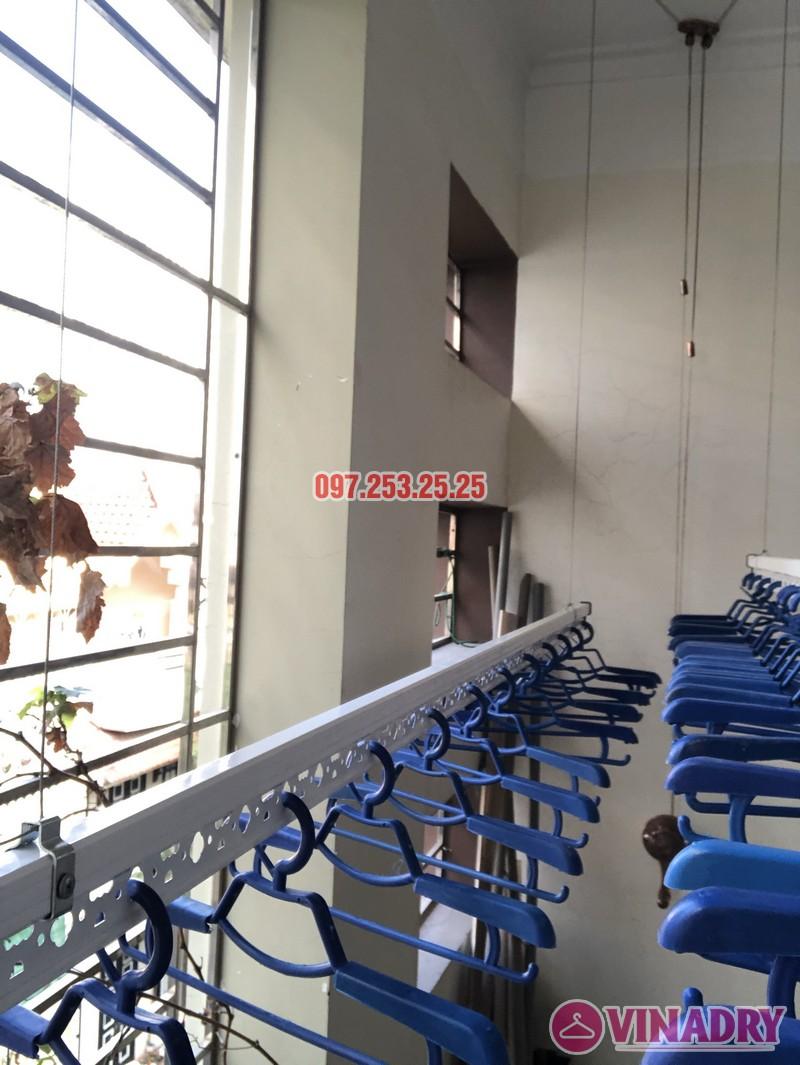 Bộ giàn phơi Vinadry GP902 lắp tại nhà chị Linh, ngõ 40 Ngụy Như Kon Tum, Thanh Xuân- 02