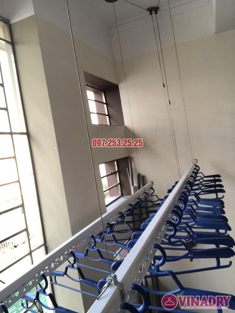 Bộ giàn phơi Vinadry GP902 lắp tại nhà chị Linh, ngõ 40 Ngụy Như Kon Tum, Thanh Xuân- 03