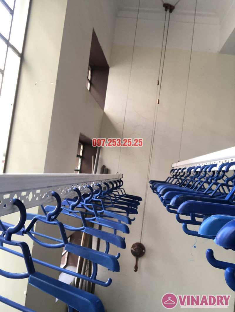 Bộ giàn phơi Vinadry GP902 lắp tại nhà chị Linh, ngõ 40 Ngụy Như Kon Tum, Thanh Xuân- 04