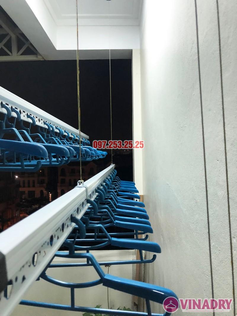 Lắp giàn phơi thông minh cao cấp tại nhà anh Tiến, ngõ 11 Việt Hưng, Long Biên - 04
