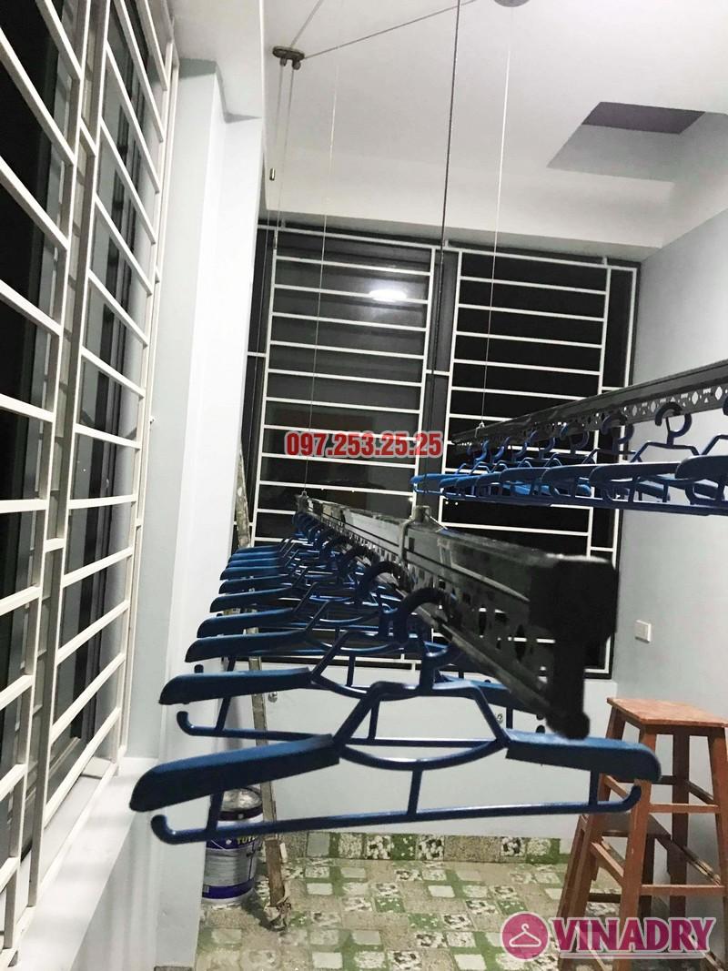 Lắp giàn phơi cao cấp Vinadry, mẫu mới 2019 nhà chị Hạ, Gia Lâm, Hà Nội - 04
