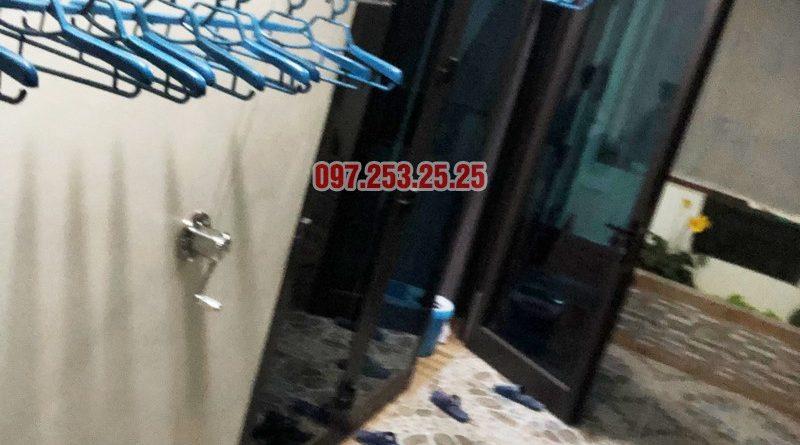 Lắp giàn phơi thông minh cao cấp tại nhà anh Tiến, ngõ 11 Việt Hưng, Long Biên - 05