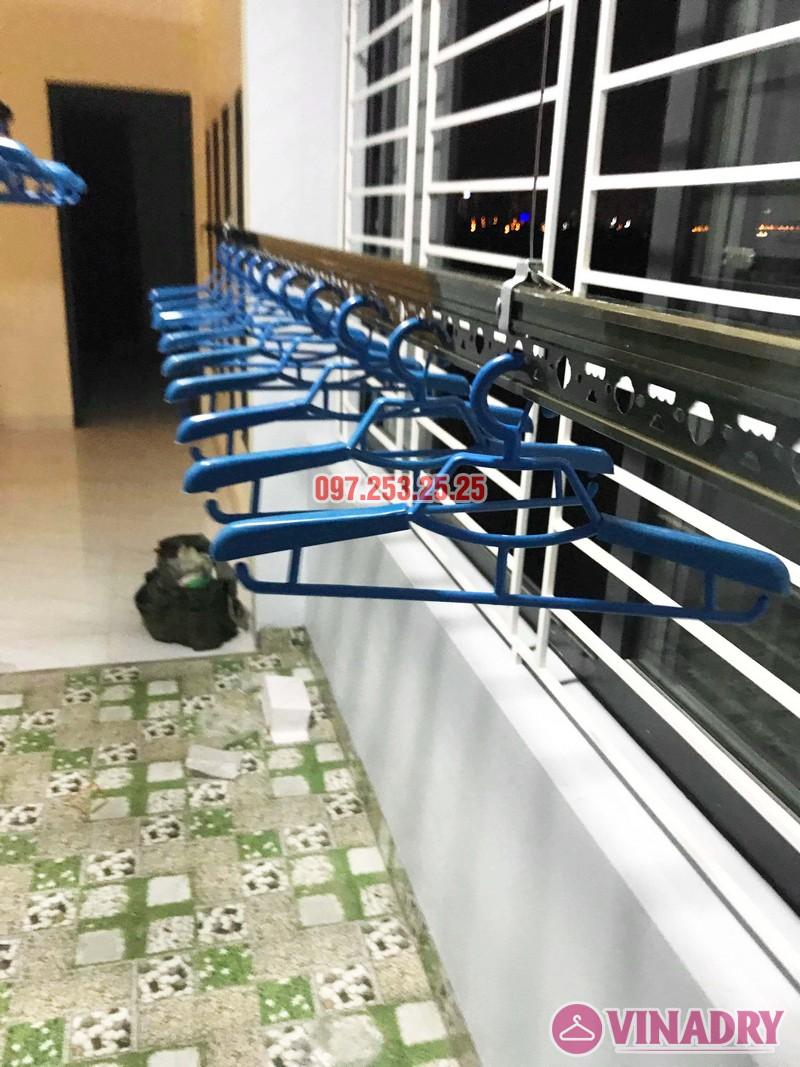 Lắp giàn phơi cao cấp Vinadry, mẫu mới 2019 nhà chị Hạ, Gia Lâm, Hà Nội - 06