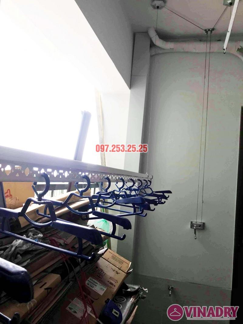 Lắp giàn phơi giá rẻ tại chung cư N01 Ngoại giao đoàn nhà anh Tâm - 01