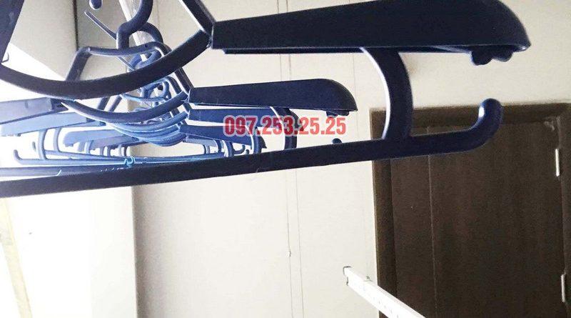 Lắp giàn phơi giá rẻ tại chung cư N01 Ngoại giao đoàn nhà anh Tâm - 04