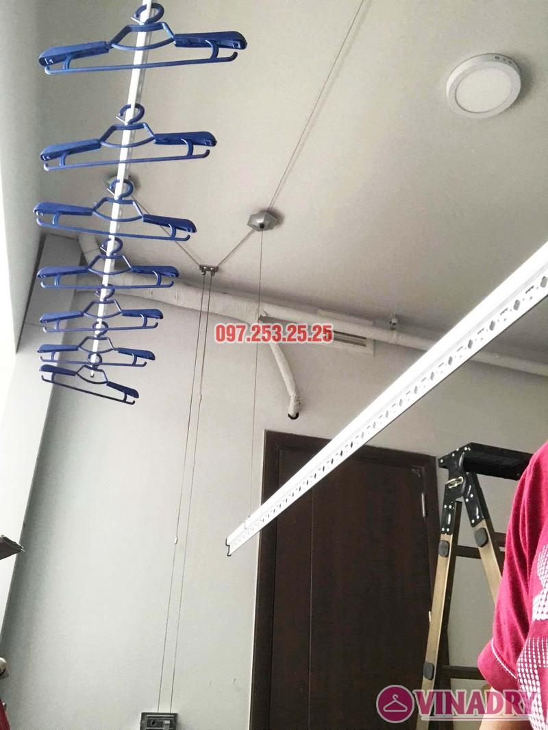 Lắp giàn phơi giá rẻ tại chung cư N01 Ngoại giao đoàn nhà anh Tâm - 05