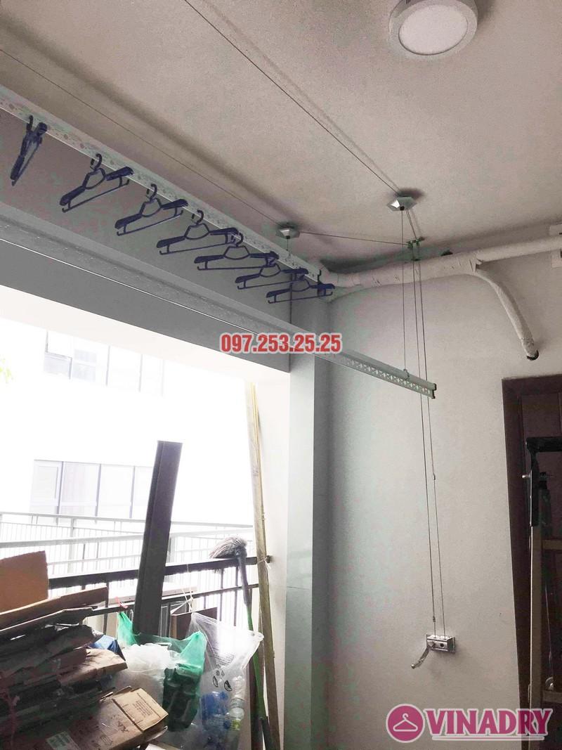 Lắp giàn phơi giá rẻ tại chung cư N01 Ngoại giao đoàn nhà anh Tâm - 07