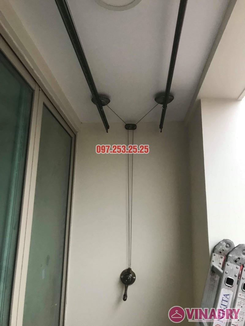 Giàn phơi Vinadry GP902 lắp tại chung cư Mandarin Garden 2 nhà chị My - 02