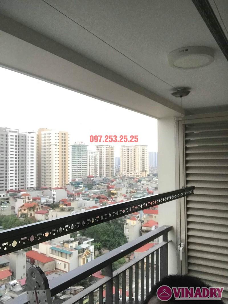 Giàn phơi Vinadry GP902 lắp tại chung cư Mandarin Garden 2 nhà chị My - 04
