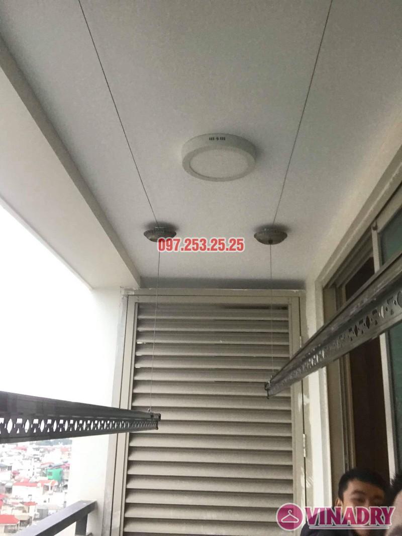 Giàn phơi Vinadry GP902 lắp tại chung cư Mandarin Garden 2 nhà chị My - 05