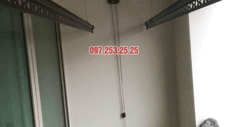 Giàn phơi Hòa Phát Star HP902 lắp tại chung cư Mandarin Garden 2 nhà chị My - 06