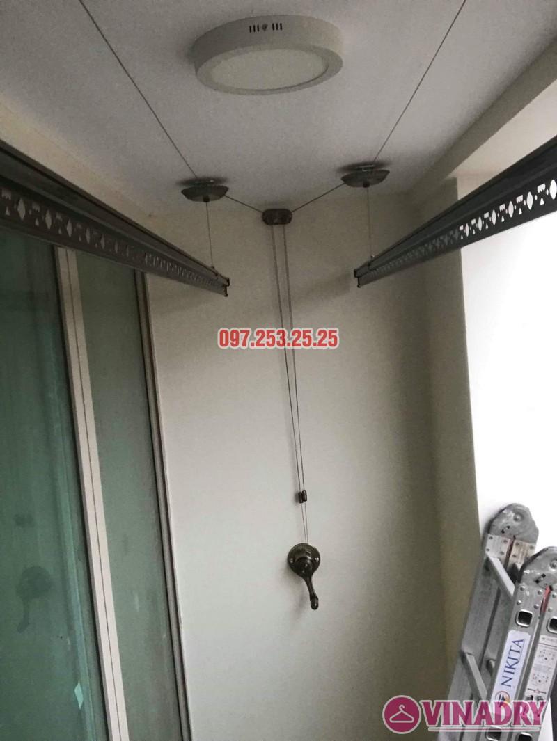 Giàn phơi Vinadry GP902 lắp tại chung cư Mandarin Garden 2 nhà chị My - 06