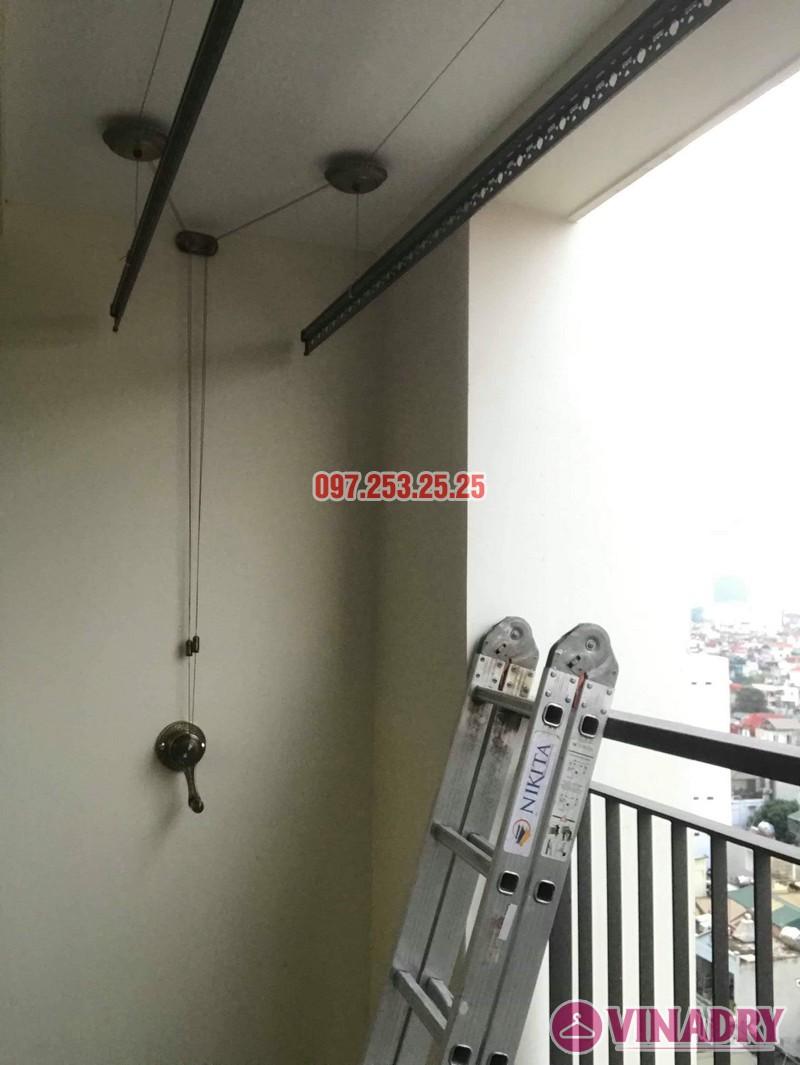 Giàn phơi Vinadry GP902 lắp tại chung cư Mandarin Garden 2 nhà chị My - 07