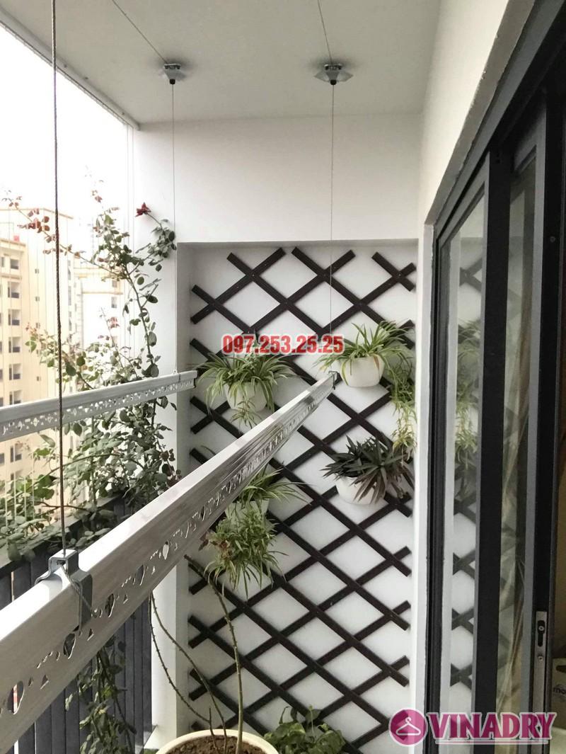 Lắp giàn phơi giá rẻ tại chung cư Five Star Kim Giang nhà anh Tùng - 03