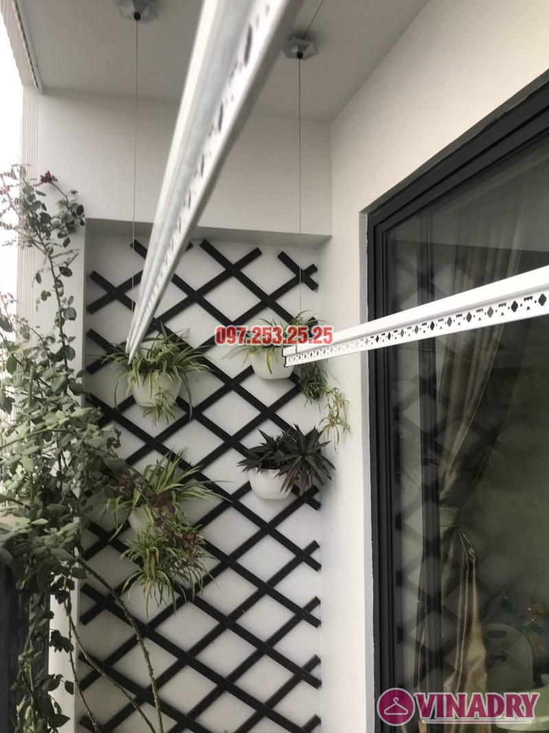 Lắp giàn phơi giá rẻ tại chung cư Five Star Kim Giang nhà anh Tùng - 06