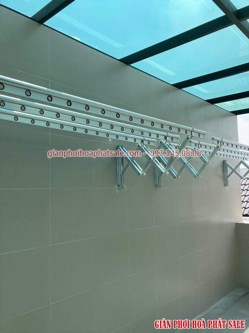giàn phơi thông minh gắn tường loại tốt Hòa Phát 68A thiết kế sang trọng, độ bền cao