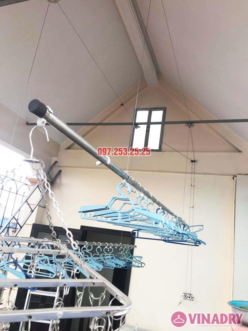Sửa giàn phơi giá rẻ tại Hà Nội nhà chị Đan, ngách 49/28 Đức Giang, Long Biên - 07