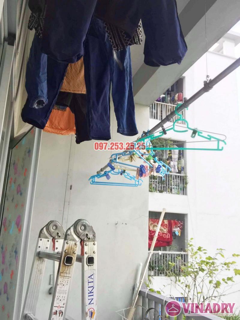 Sửa giàn phơi giá rẻ tại KĐT Việt Hưng Long Biên nhà anh Chiến - 02