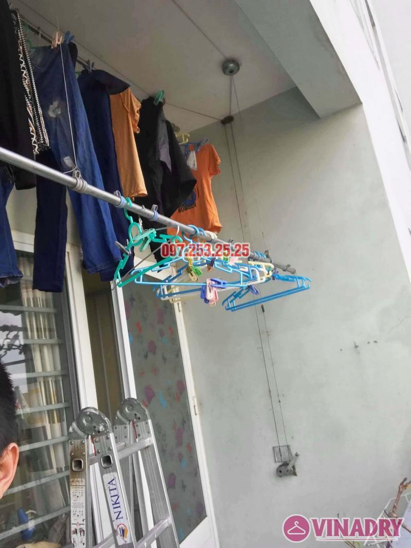 Sửa giàn phơi giá rẻ tại KĐT Việt Hưng Long Biên nhà anh Chiến - 03