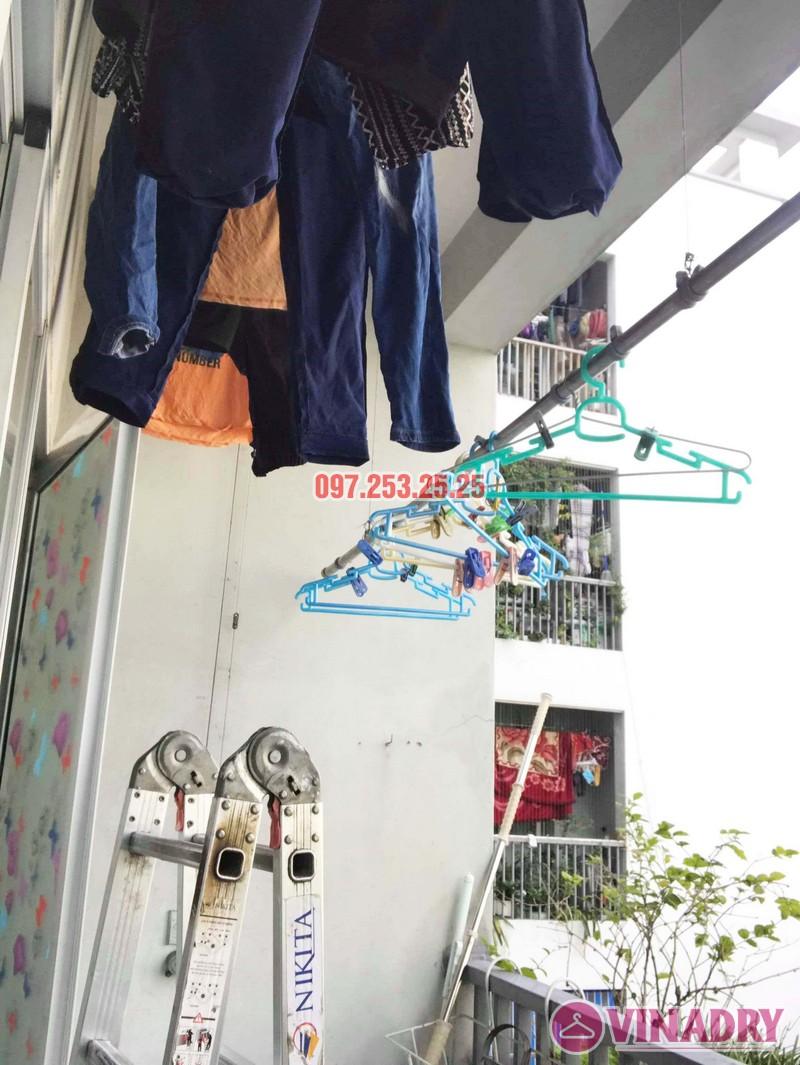 Sửa giàn phơi giá rẻ tại KĐT Việt Hưng Long Biên nhà anh Chiến - 04