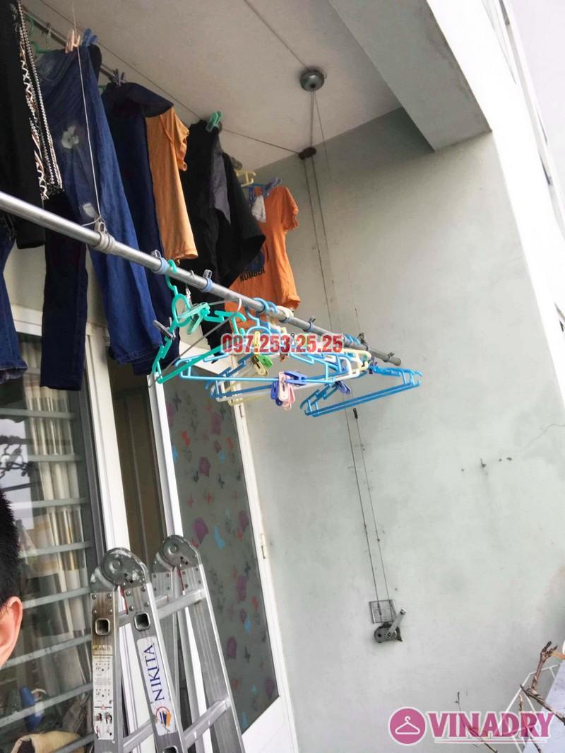 Sửa giàn phơi giá rẻ tại KĐT Việt Hưng Long Biên nhà anh Chiến - 05