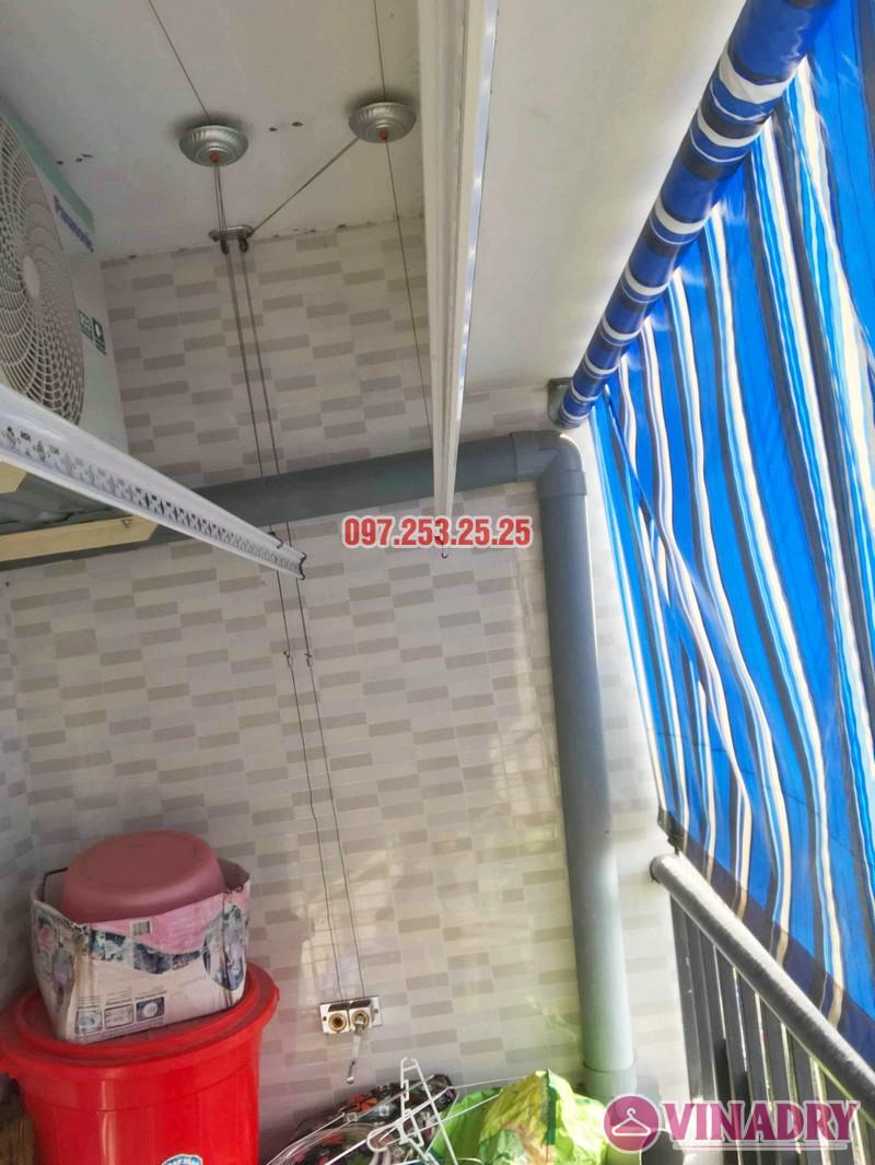 Sửa giàn phơi tại chung cư HH3B Linh Đàm Hoàng Mai, Hà Nội nhà chị Hà - 01