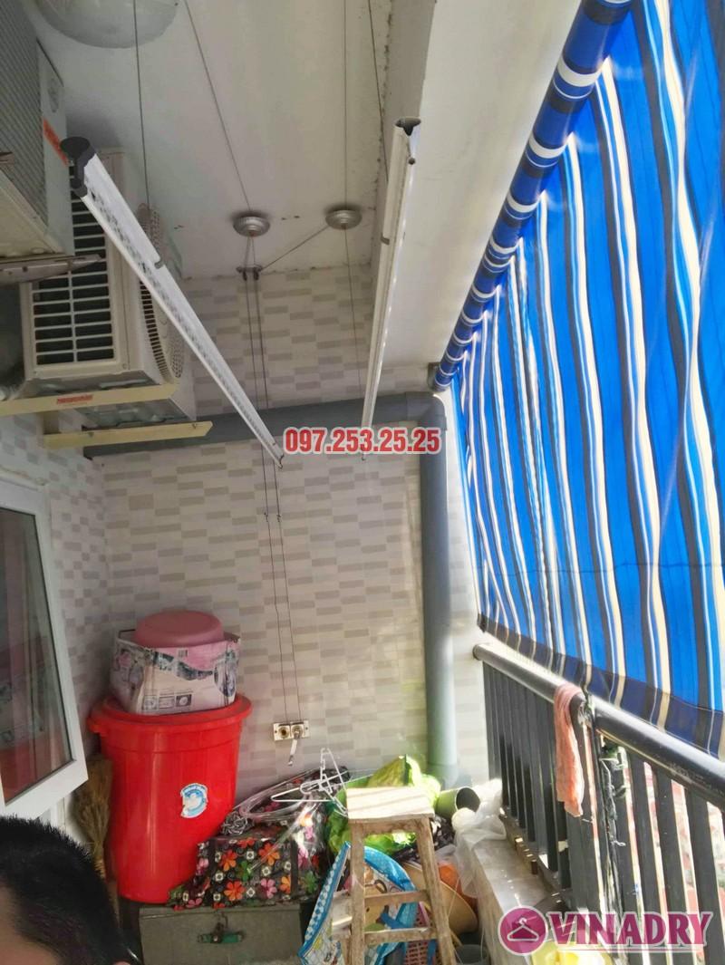 Sửa giàn phơi tại chung cư HH3B Linh Đàm Hoàng Mai, Hà Nội nhà chị Hà - 02