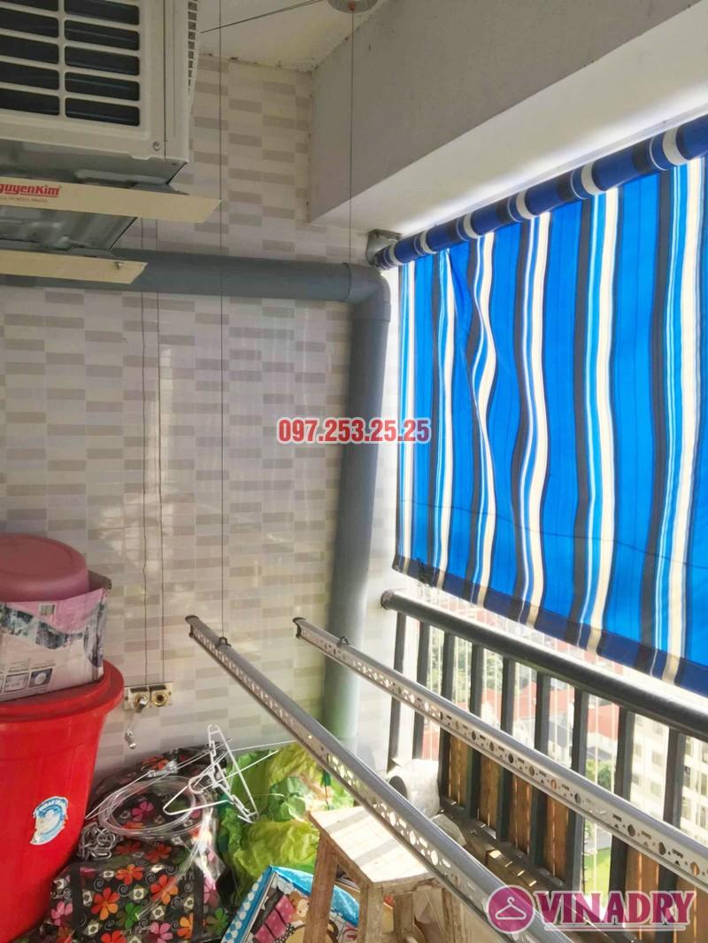 Sửa giàn phơi tại chung cư HH3B Linh Đàm Hoàng Mai, Hà Nội nhà chị Hà - 05
