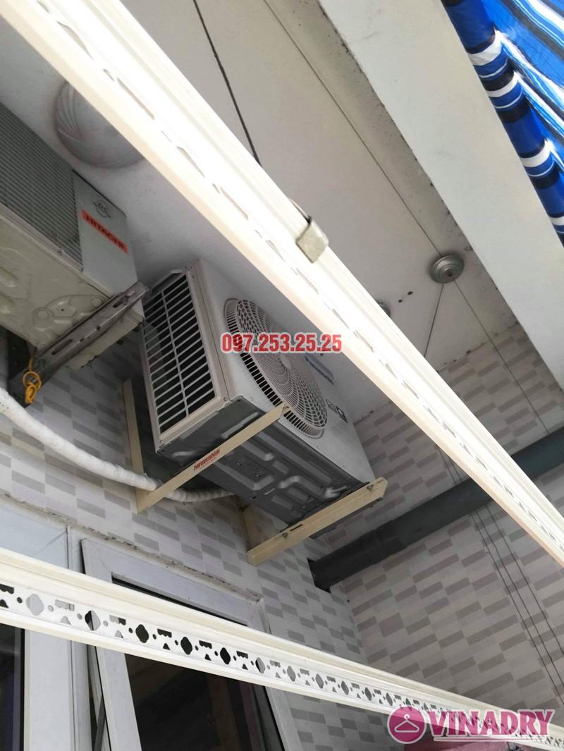 Sửa giàn phơi tại chung cư HH3B Linh Đàm Hoàng Mai, Hà Nội nhà chị Hà - 06