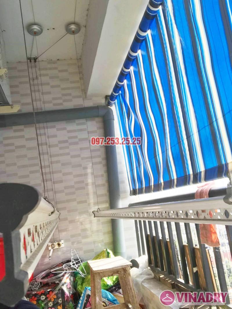 Sửa giàn phơi tại chung cư HH3B Linh Đàm Hoàng Mai, Hà Nội nhà chị Hà - 07