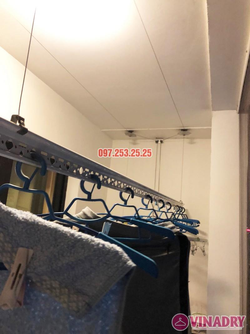 Sửa giàn phơi thông minh tại Royal City nhà chị Hải, căn 2409, tòa R6A - 06