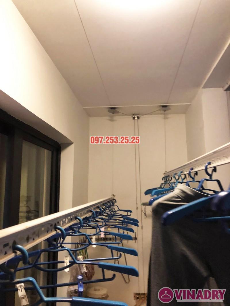 Sửa giàn phơi thông minh tại Royal City nhà chị Hải, căn 2409, tòa R6A - 07