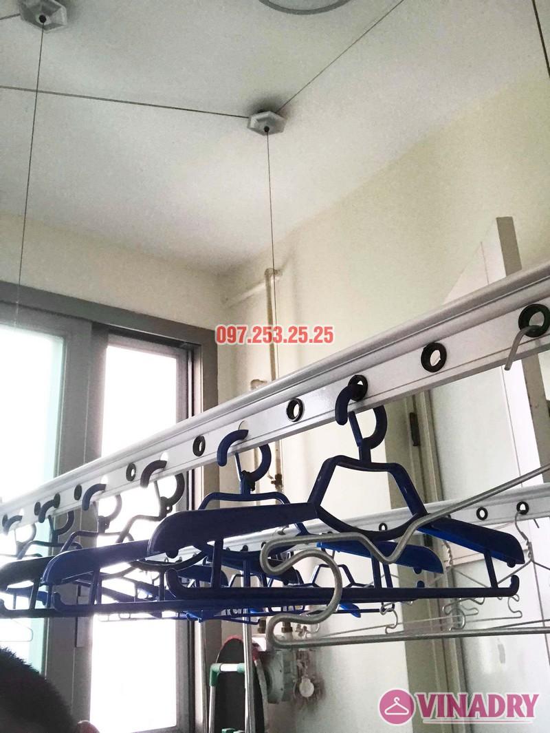 Sửa giàn phơi Hà Đông giá rẻ nhà chị Mai, chung cư Hyundai Hillstate - 02
