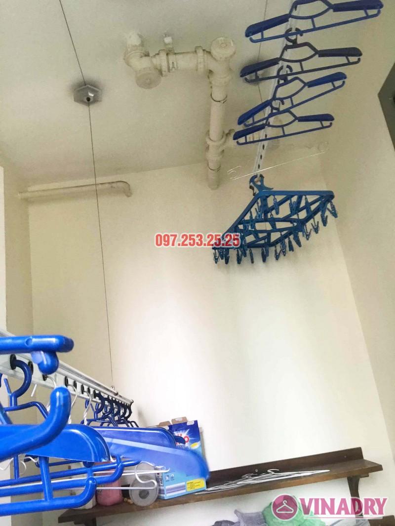 Sửa giàn phơi Hà Đông giá rẻ nhà chị Mai, chung cư Hyundai Hillstate - 03