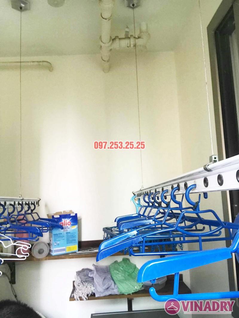 Sửa giàn phơi Hà Đông giá rẻ nhà chị Mai, chung cư Hyundai Hillstate - 04