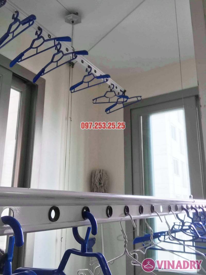 Sửa giàn phơi Hà Đông giá rẻ nhà chị Mai, chung cư Hyundai Hillstate - 05