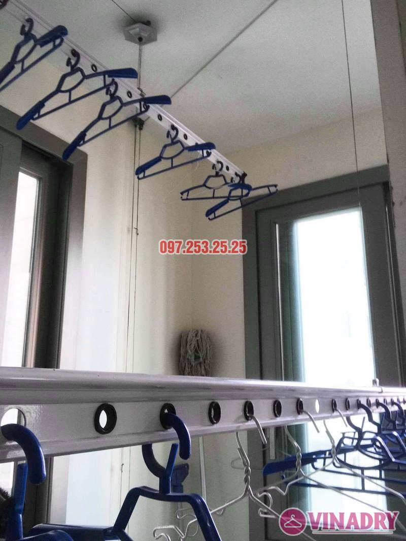 Sửa giàn phơi Hà Đông giá rẻ nhà chị Mai, chung cư Hyundai Hillstate - 07