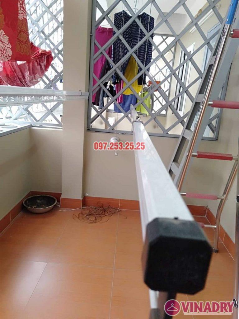 Hình ảnh thực tế bộ giàn phơi Hòa Phát gá rẻ KS950 cực chất - 05