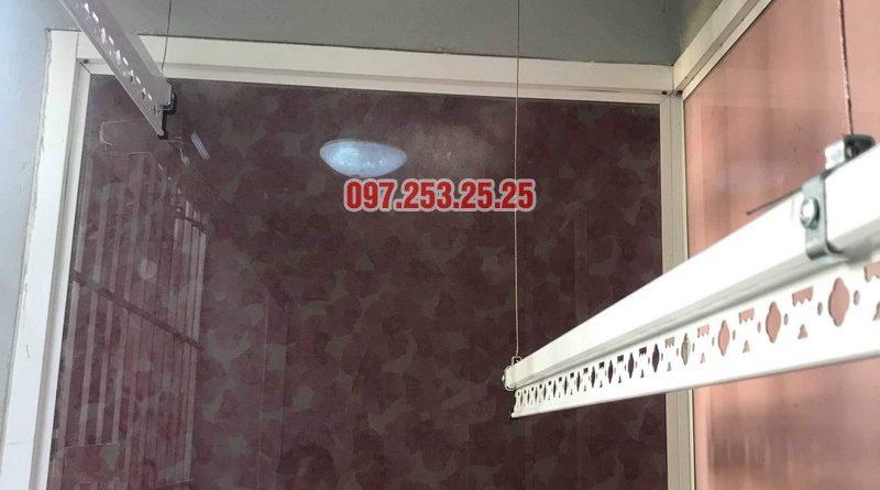 Lắp giàn phơi Hòa Phát giá rẻ tại Hoàng Mai, Hà Nội - 01