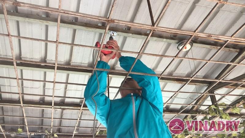 Lắp giàn phơi Vinadry gp902 tại Kiến Hưng, Hà Đông, Hà Nội - 01