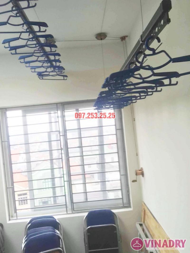 Lắp giàn phơi Vinadry 903 cho nhà phố đẹp lung linh