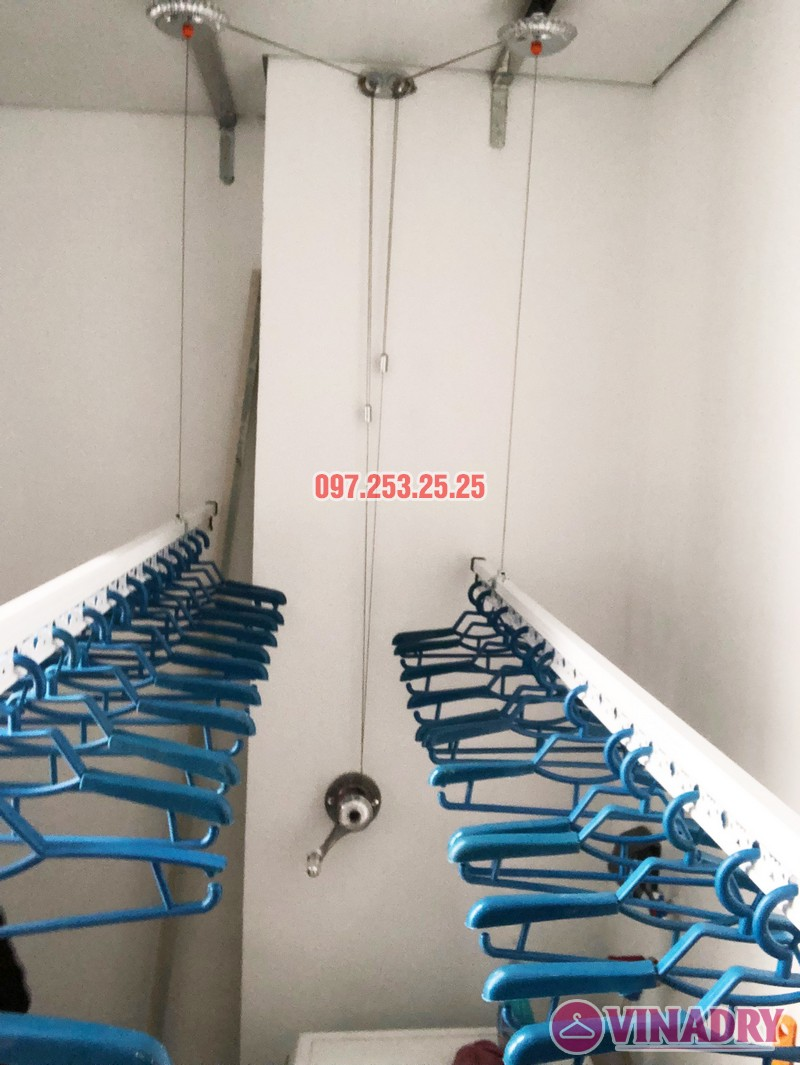 Bộ giàn phơi quần áo thông minh Vinadry gp901