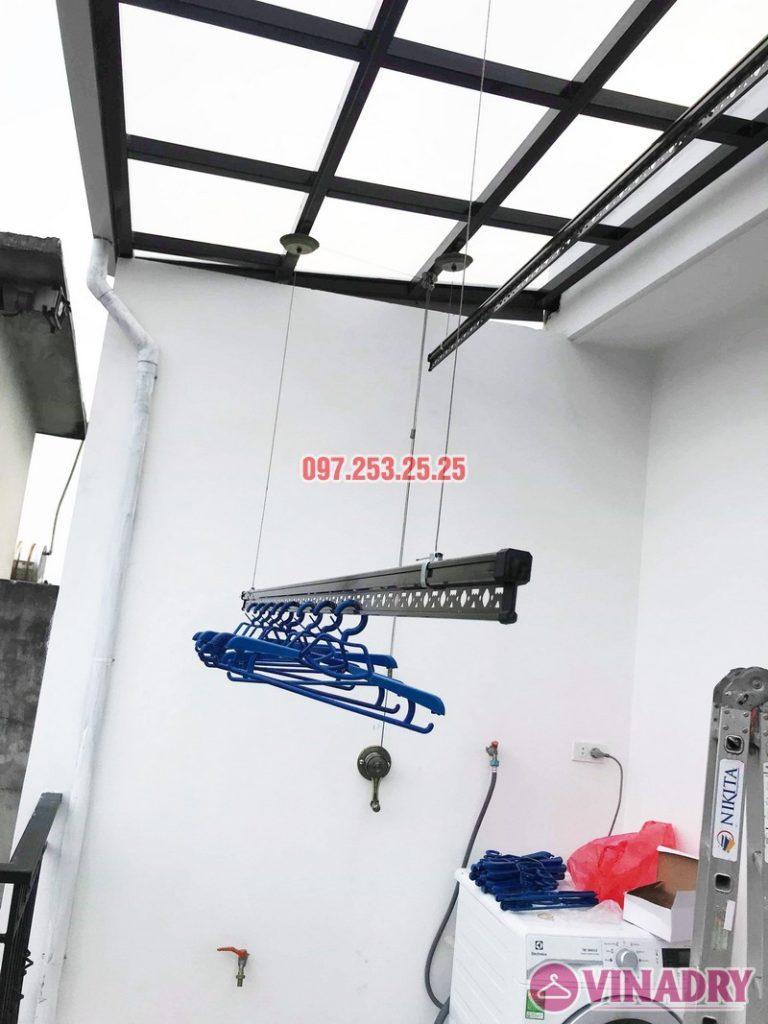 Mẫu giàn phơi Vinadry gp902 có chất lượng tốt nhất 2019 được lắp tại Gia Lâm, Hà Nội