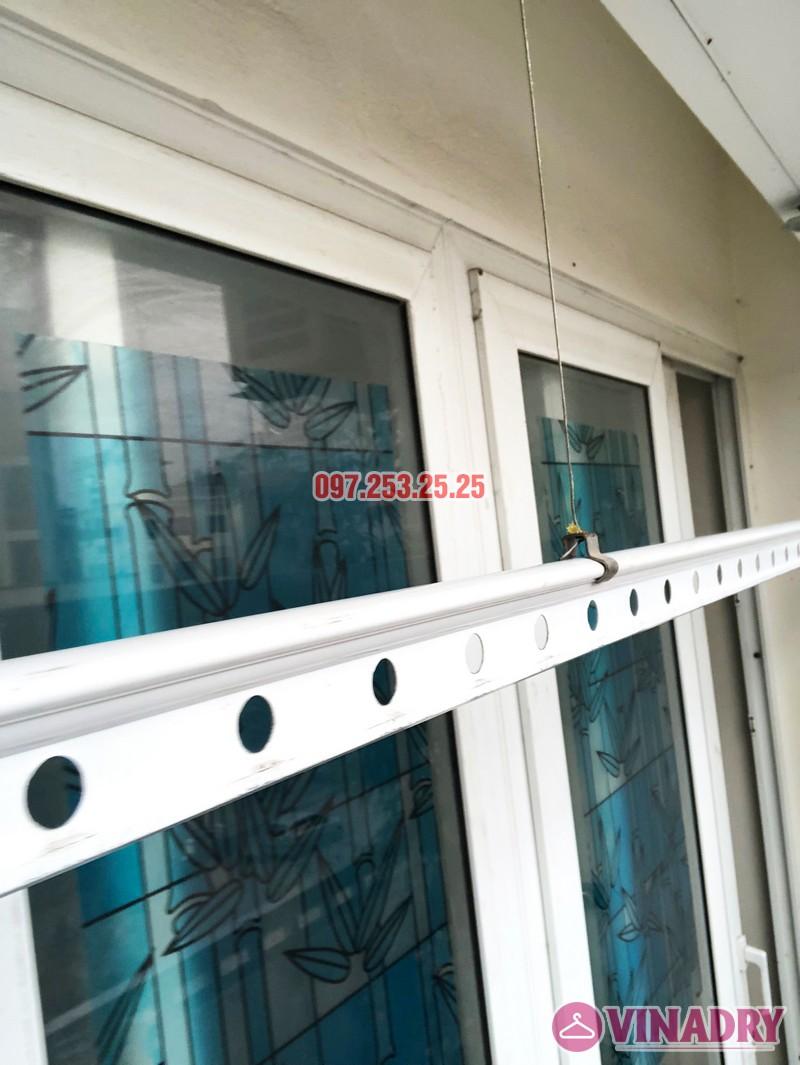 Sửa giàn phơi giá rẻ tại Hà Nội, thay dây cáp chỉ từ 150k - 06