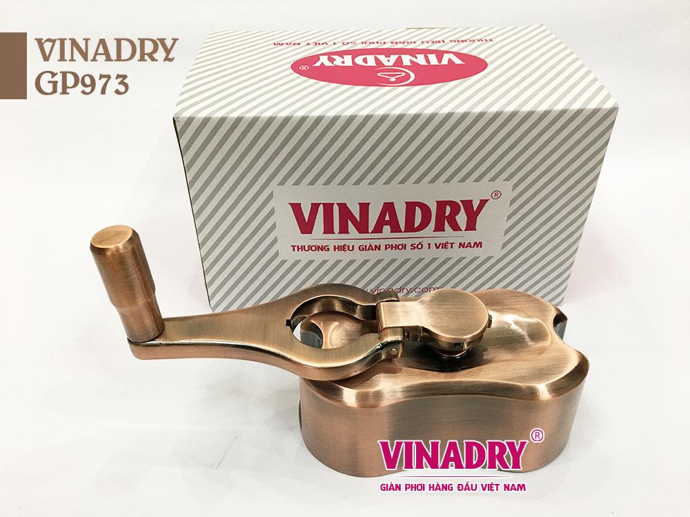 Bộ tời Vinadry GP973 với cơ cấu chống rối dây hiện đại
