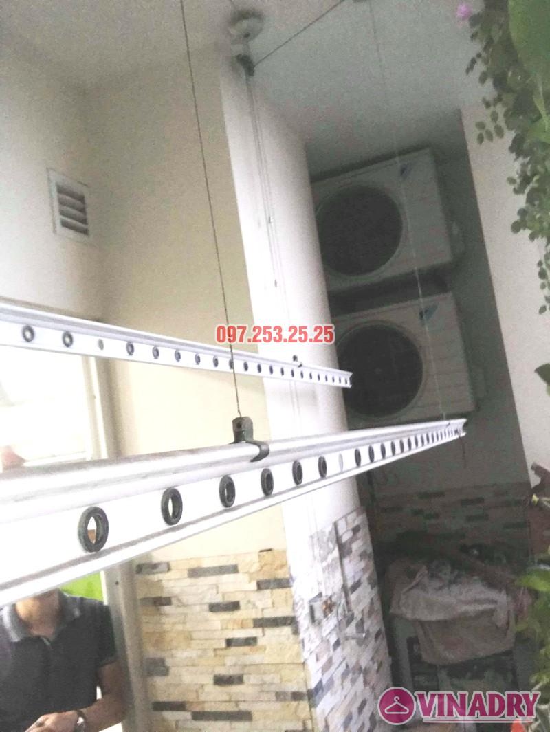 Sửa giàn phơi thông minh tại Hoàng Mai nhà anh Hòa, tòa CT2A, chung cư Nam Đô complex - 01