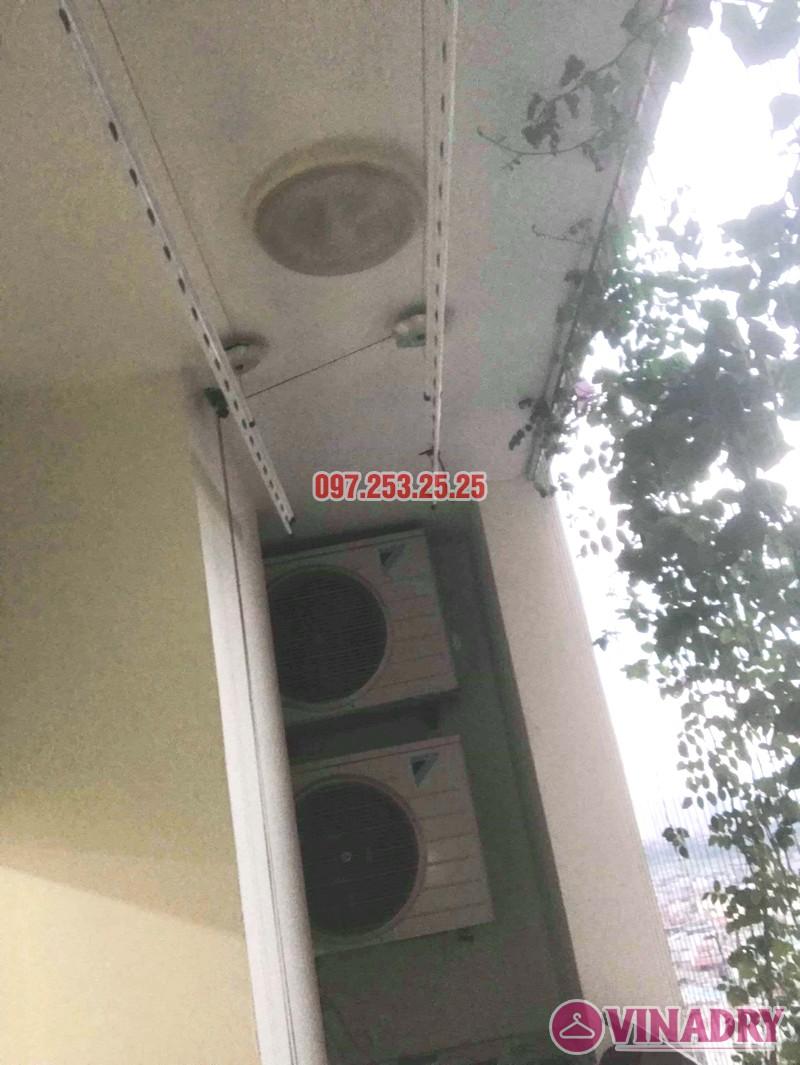 Sửa giàn phơi thông minh tại Hoàng Mai nhà anh Hòa, tòa CT2A, chung cư Nam Đô complex - 02