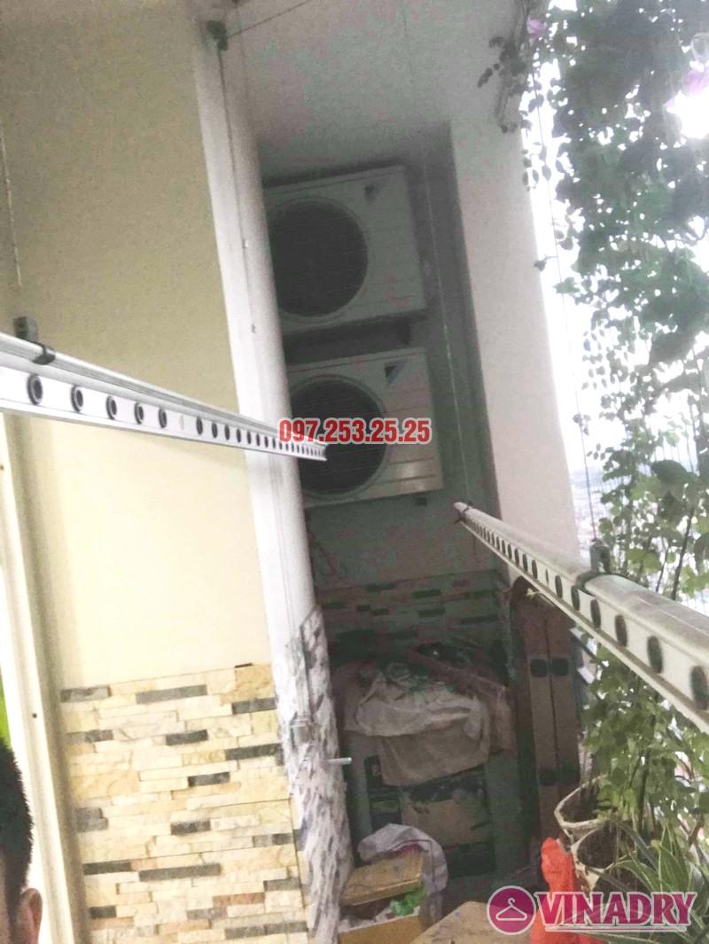 Sửa giàn phơi thông minh tại Hoàng Mai nhà anh Hòa, tòa CT2A, chung cư Nam Đô complex - 03