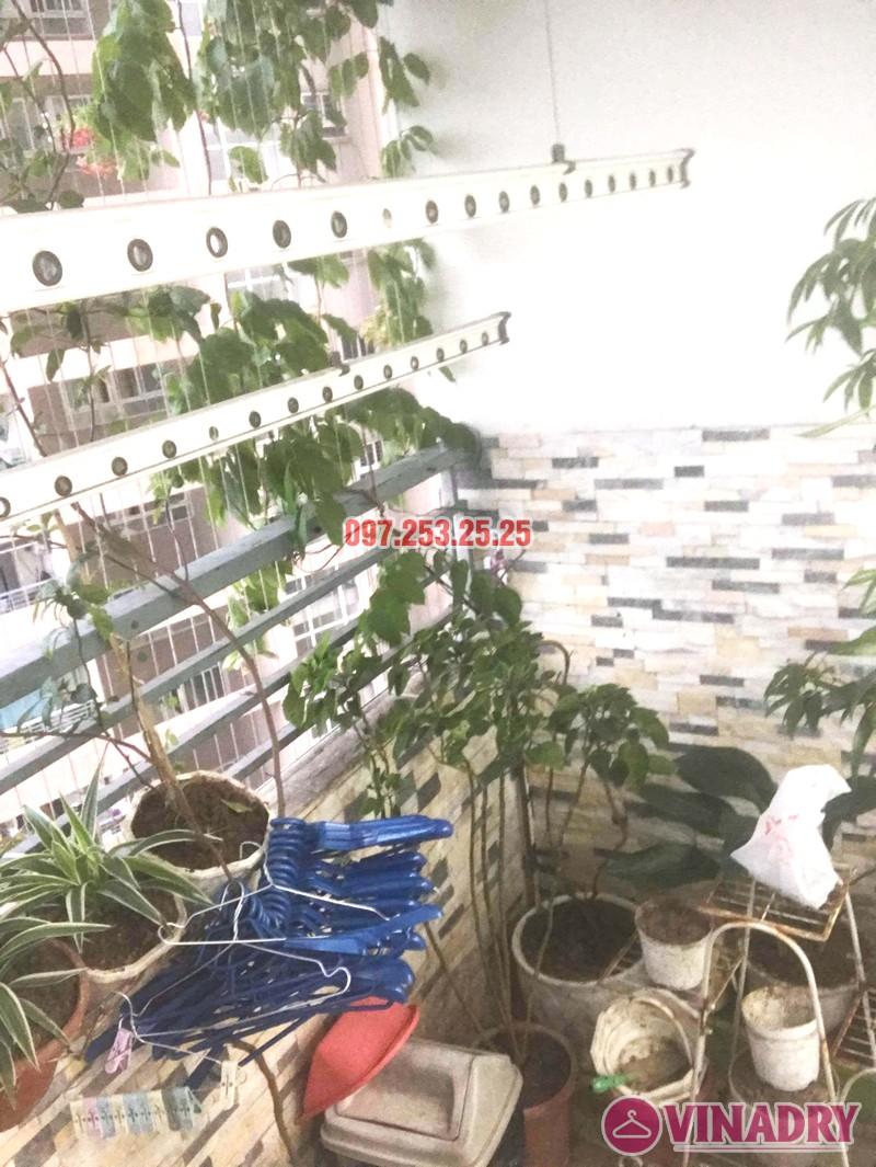 Sửa giàn phơi thông minh tại Hoàng Mai nhà anh Hòa, tòa CT2A, chung cư Nam Đô complex - 05